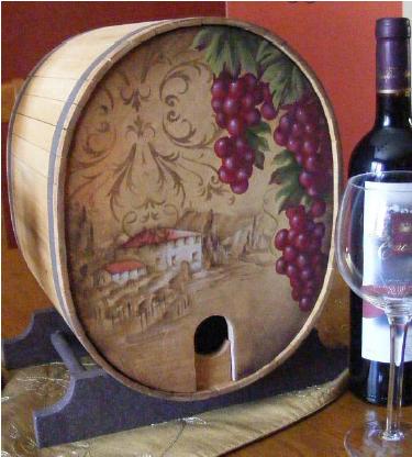 Tuscan Wine Cask - E-Packet - Tracy Moreau