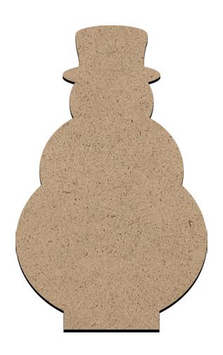 "Standing Word Bling Surface - Snowman - Mini - 1 7/8"" x 3"""