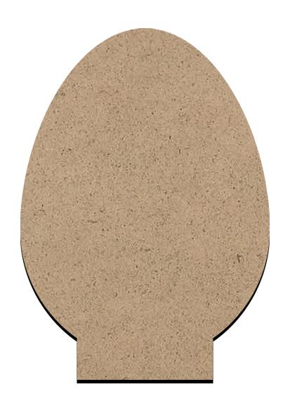 "Standing Word Bling Surface - Egg - Mini - 2"" x 3"""