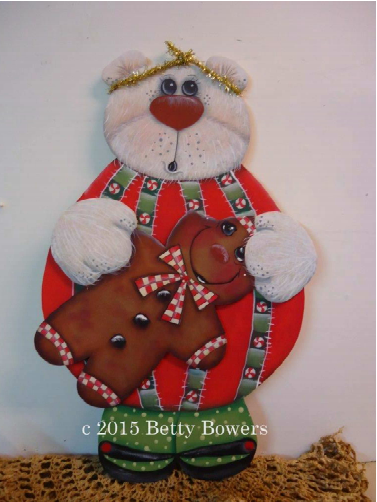 Ginger the Bear - E-Packet - Betty Bowers
