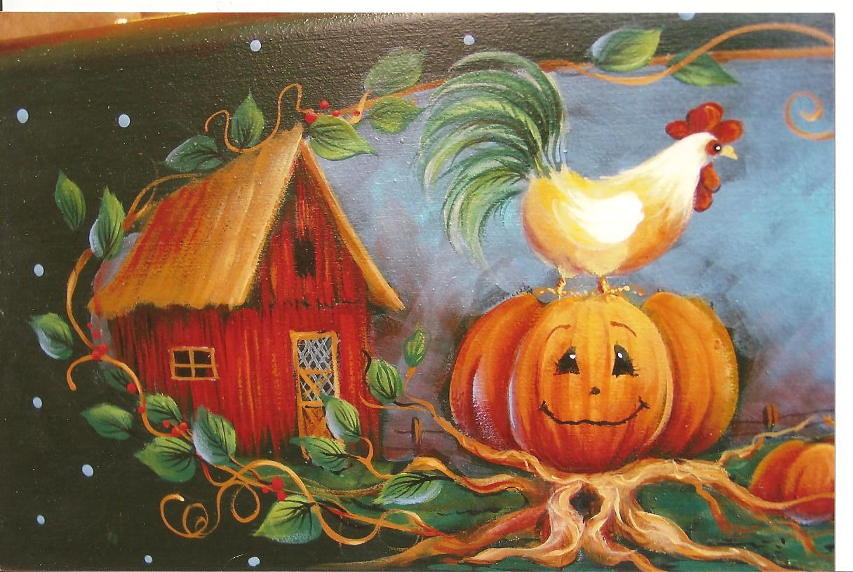Pumpkin Morning - E-Packet - Yvonne Kresal