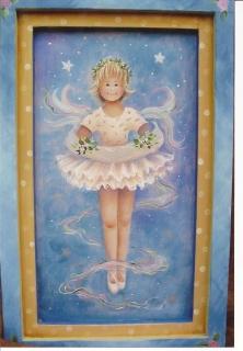 Ballerina Plaque and Ornaments - E-Packet - Yvonne Kresal