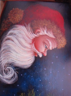 Cardinal and Santa Treasure Box - E-Packet - Yvonne Kresal