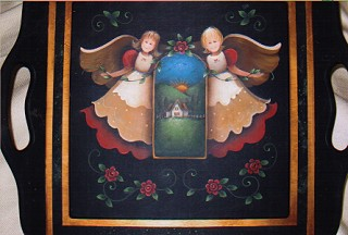 Angel Tray - E-Packet - Yvonne Kresal