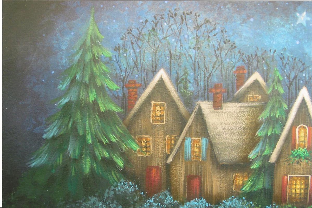 NW Winter Night - E-Packet - Yvonne Kresal