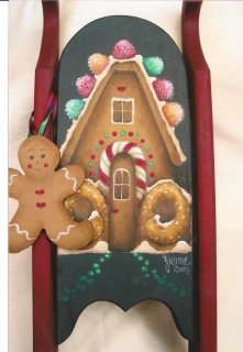 Gingerbread House - E-Packet - Yvonne Kresal