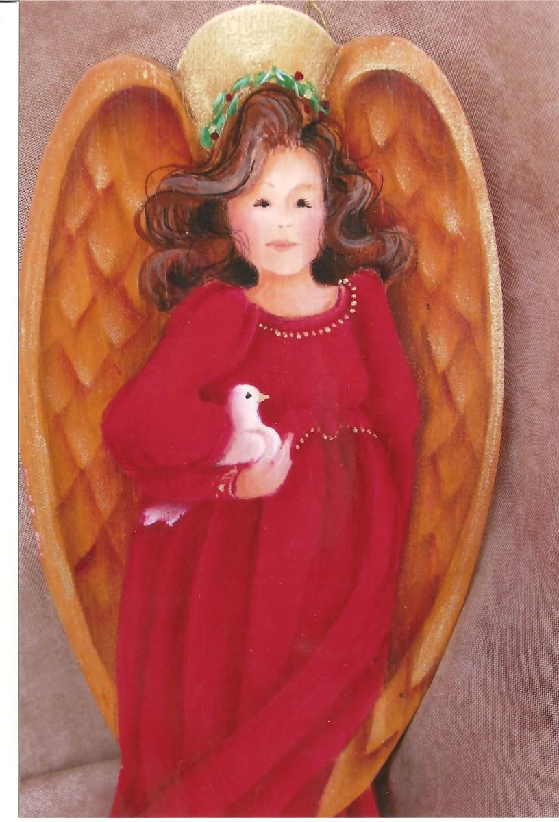 Peace Angel Ornament - E-Packet - Yvonne Kresal