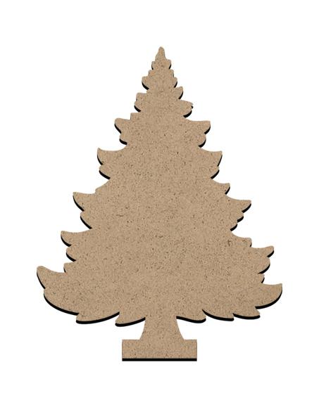 "Standing Word Bling Surface - Christmas Tree - Mini - 2 1/2"" x 3 1/8"""