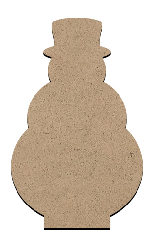 """Standing Word Bling Surface - Snowman - Small - 2 1/2"""" x 4"""""""