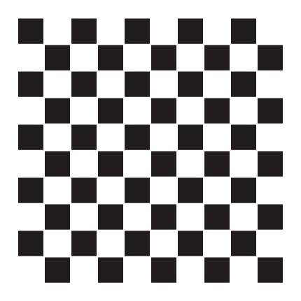 """1/2"""" Checks Pattern Stencil - 12"""" x 12"""""""