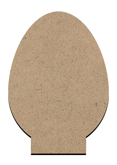 "Standing Word Bling Surface - Egg - Small - 2 3/4"" x 3 7/8"""