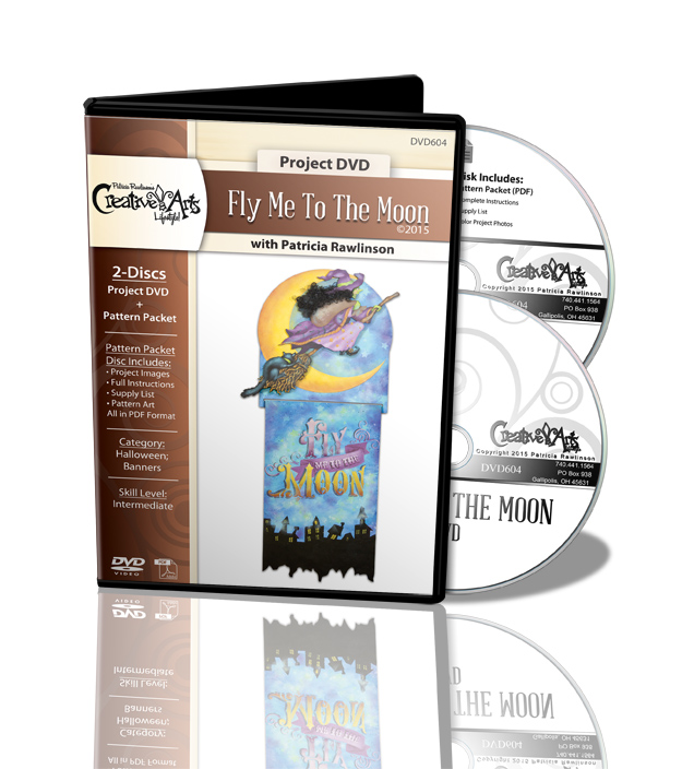 Fly Me to the Moon DVD - Patricia Rawlinson