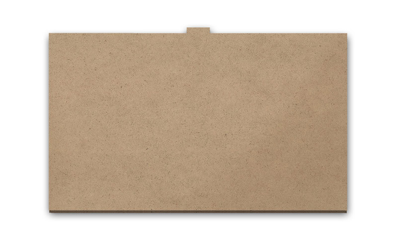"Cookbook Stand Reversible Insert Panel - 13"" x 8"""