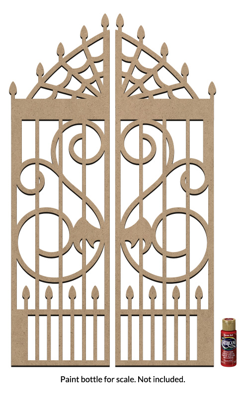 "Gothic Gate Surface - Jumbo - 28-5/8"" x 16-3/8"""