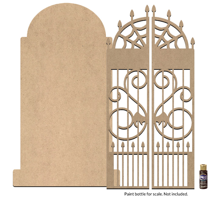 Sepulchre Tombstone and Gate Surface Set - Jumbo