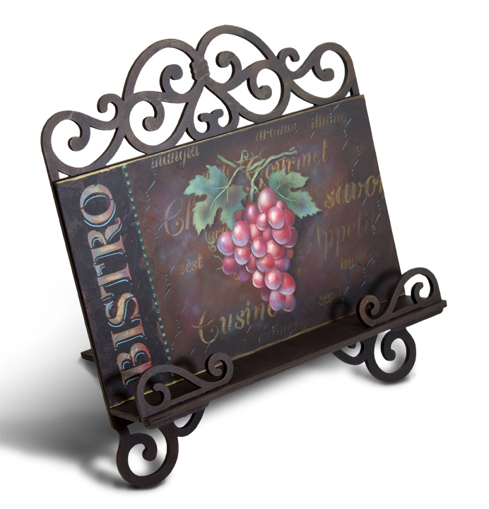 Gourmet Cookbook Stand Pattern Packet - Patricia Rawlinson