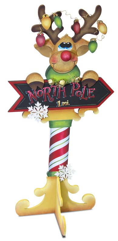 North Pole Rudolph - E-Packet - Patricia Rawlinson