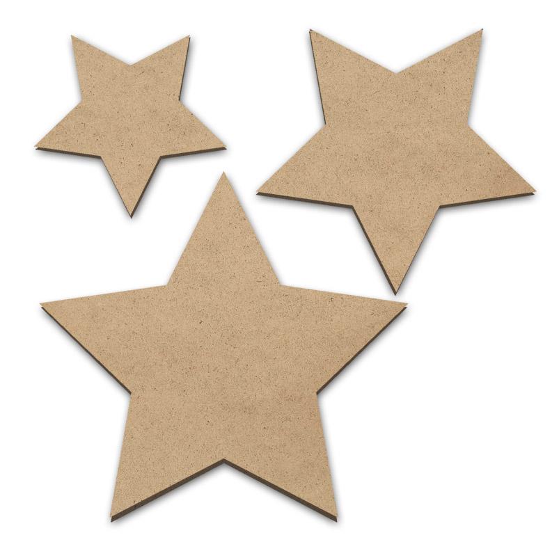 Stacking Stars - Set of 3