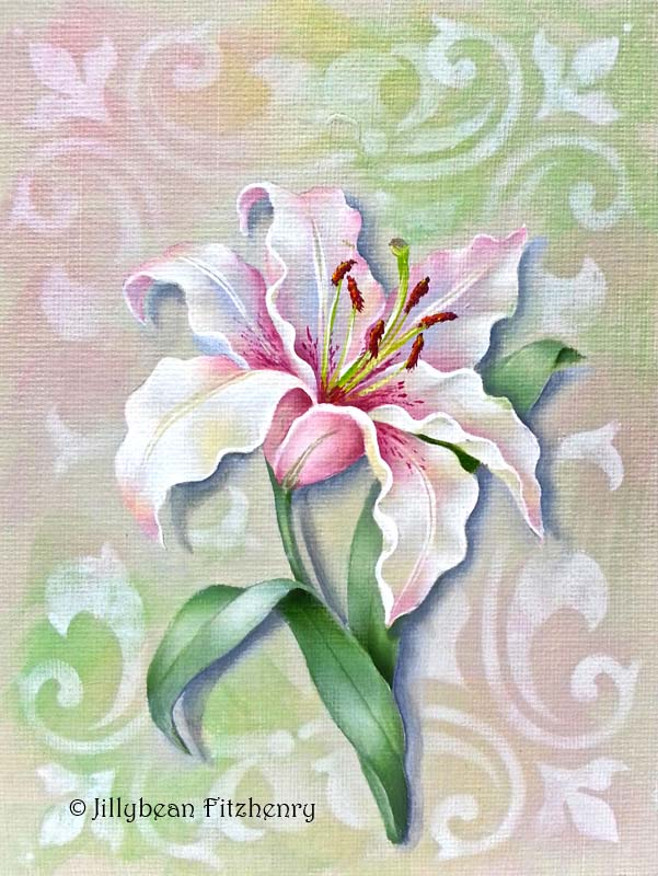 Vintage Lily - E-Packet - Jill Fitzhenry