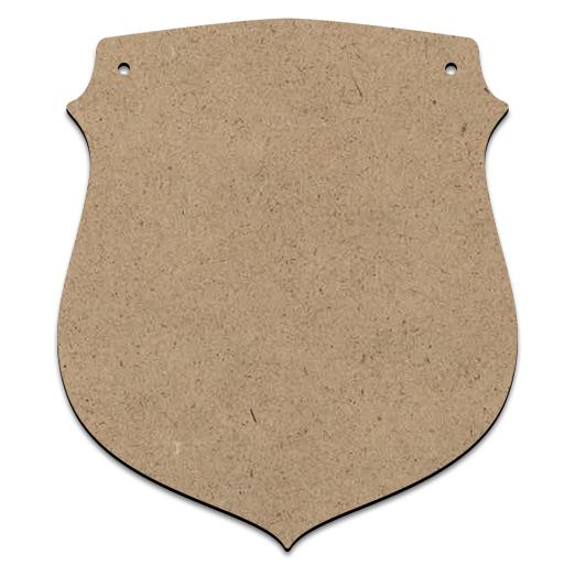 """Shield Ornament Plaque - 6"""""""