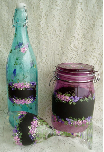 Chalk It Up Glass Painting - E-Packet - Wendy Fahey