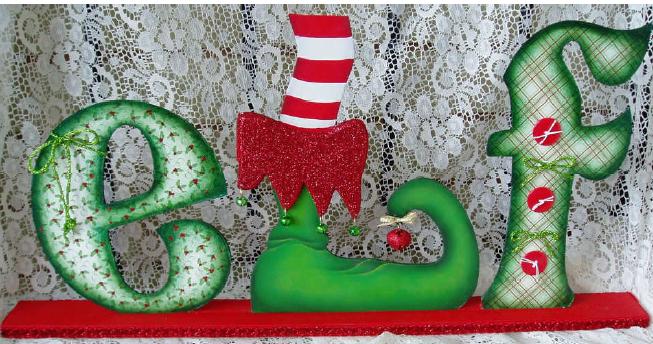 Christmas Elf - E-Packet - Wendy Fahey