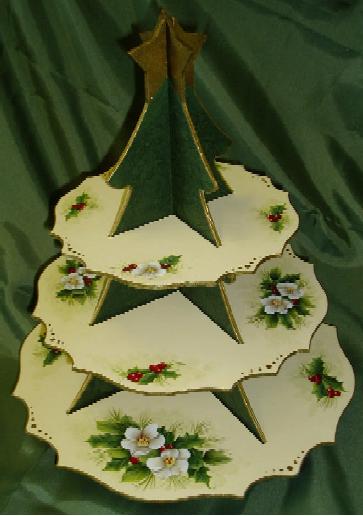 Christmas Tree Platter - E-Packet - Wendy Fahey