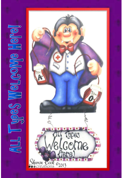 All Types Welcome Here Vampire - E-Packet - Sharon Cook