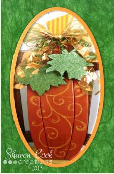 Fall Tallish Pumpkin - E-Packet - Sharon Cook