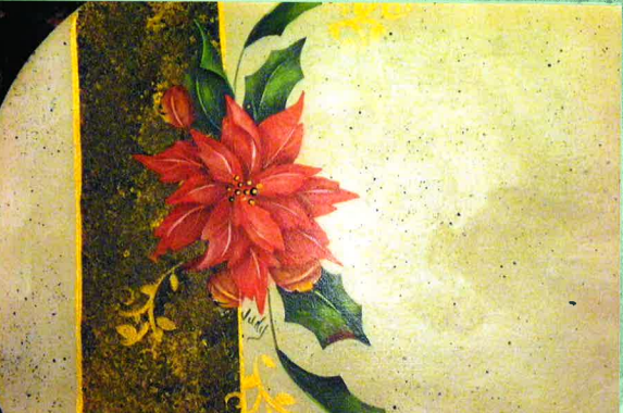 Poinsettia Placemats - E-Packet - Judy Ribitch