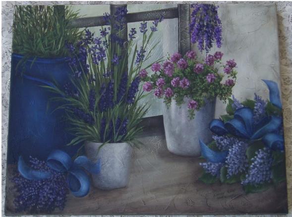 Lavender Windowsill - E-Packet - Wendy Fahey