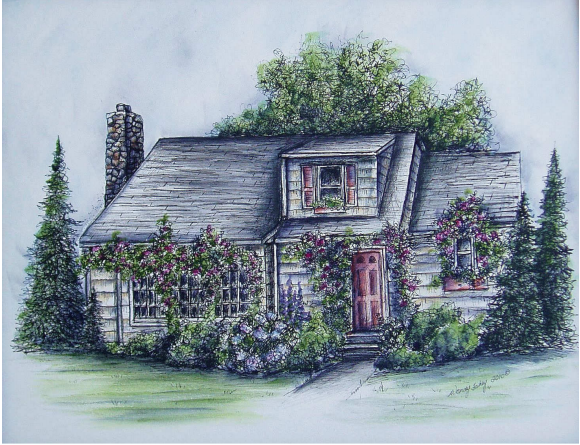 Rose Cottage - E-Packet - Wendy Fahey