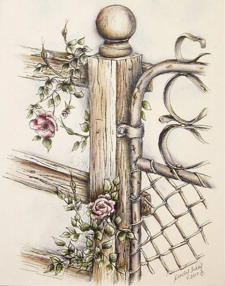 Wild Rose Gate - E-Packet - Wendy Fahey
