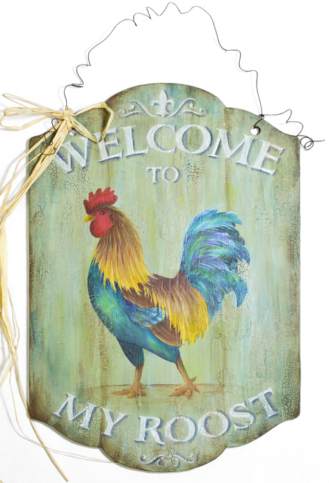 Welcome To My Roost Pattern Packet - Patricia Rawlinson