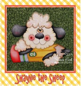 Shaynie the Sheep - E-Packet - Sharon Cook