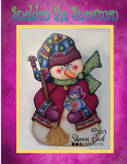 Sneldon the Snowman - E-Packet - Sharon Cook
