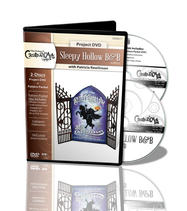 Sleepy Hollow B&B DVD and Pattern Packet - Patricia Rawlinson