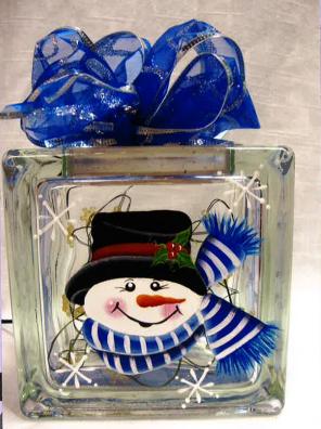 Mini Snowman Block - E-Packet - Tami Carmody