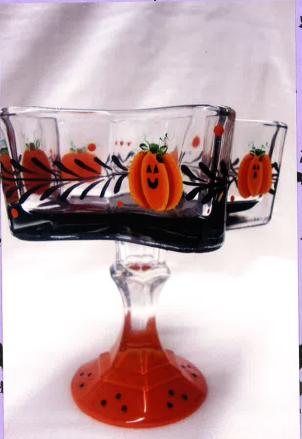 Pumpkin Candy Dish - E-Packet - Tami Carmody