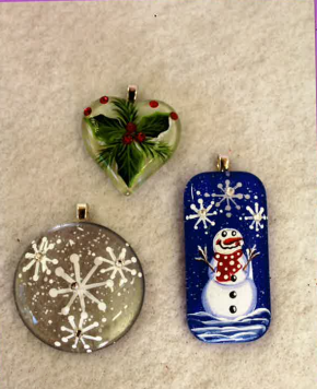 Christmas Pendants - E-Packet - Tami Carmody