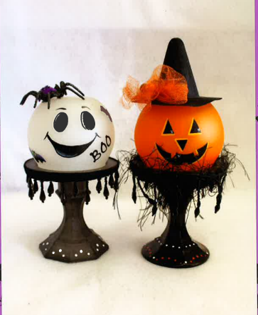 Witch and Ghost Globes - E-Packet - Tami Carmody