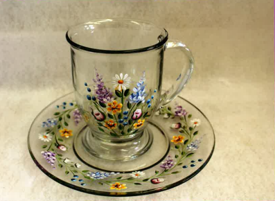 Cup and Saucer - E-Packet - Tami Carmody