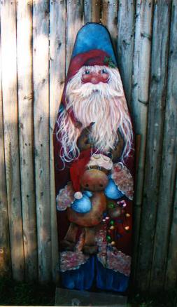 Santa Ironing Board - E-Packet - Donna Scully