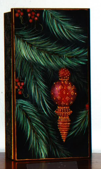 Finial Ornament Box - E-Packet - Donna Scully