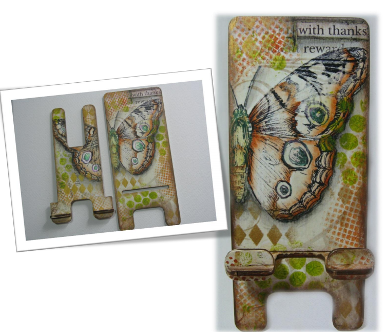 Mixed Media Phone Stand - E-Packet  - Sandy McTier