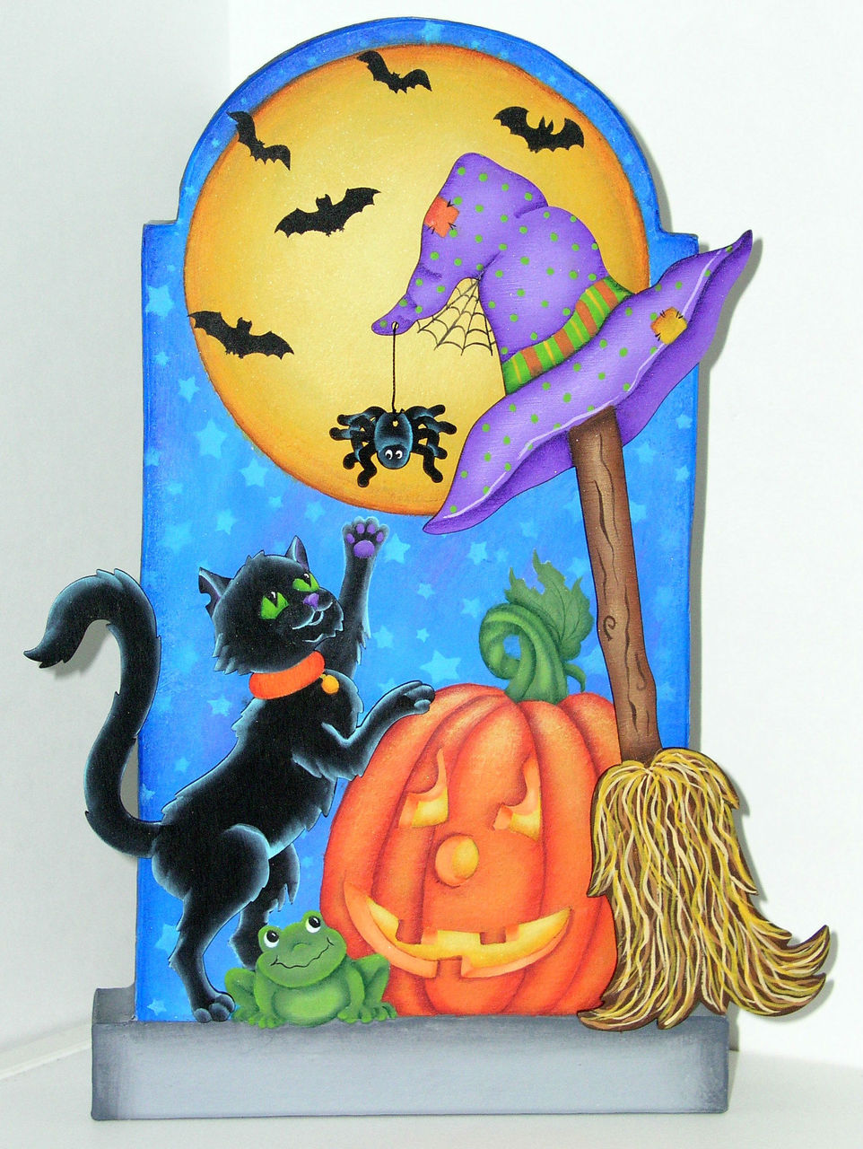 Halloween Kitty - E-Packet - Jeanne Bobish