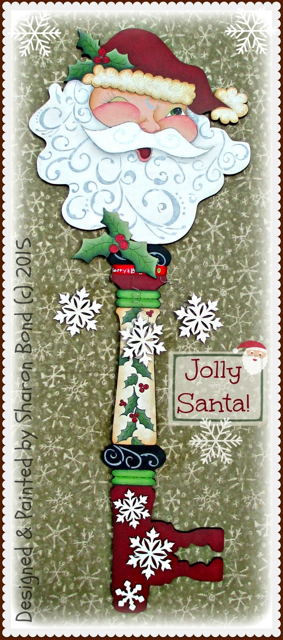 Jolly Santa - E-Packet - Sharon Bond