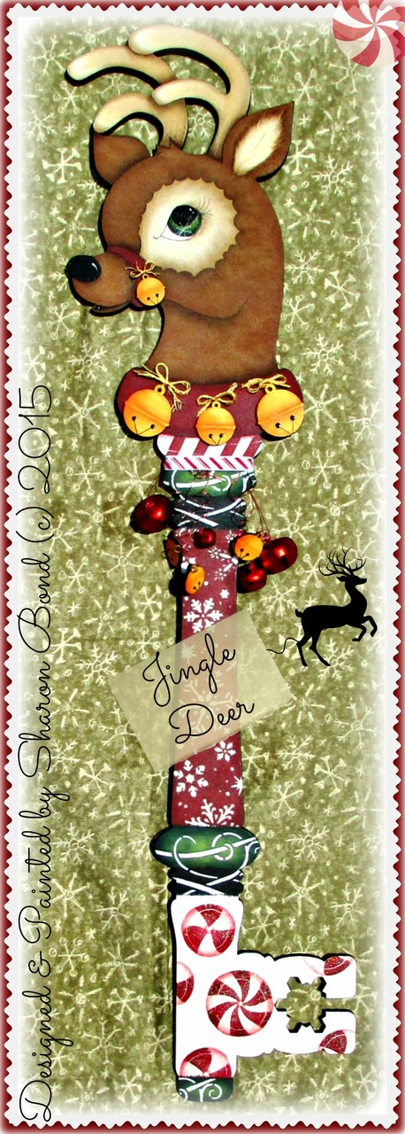 Jingle Deer - E-Packet - Sharon Bond