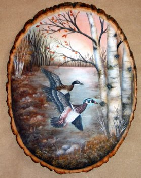 Wood Ducks - E-Packet - Donna Scully