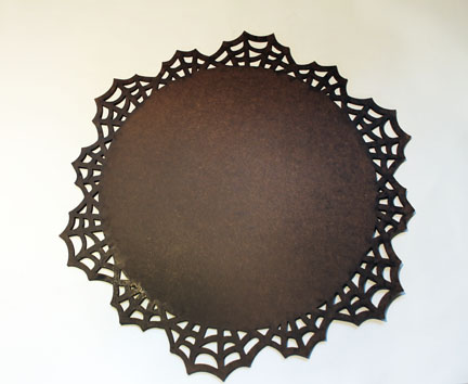 Spider Web Plaque-7 Inches